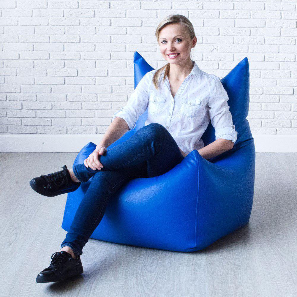 Кресла-мешки с чехлом из экокожи в интернет-магазине Декор Базар